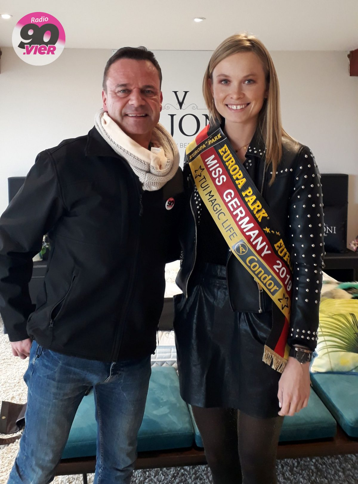 Radio 90.vier traf Miss Germany 2019